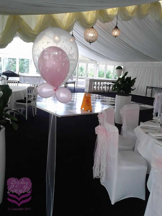 Balloon in a Balloon – floor standing