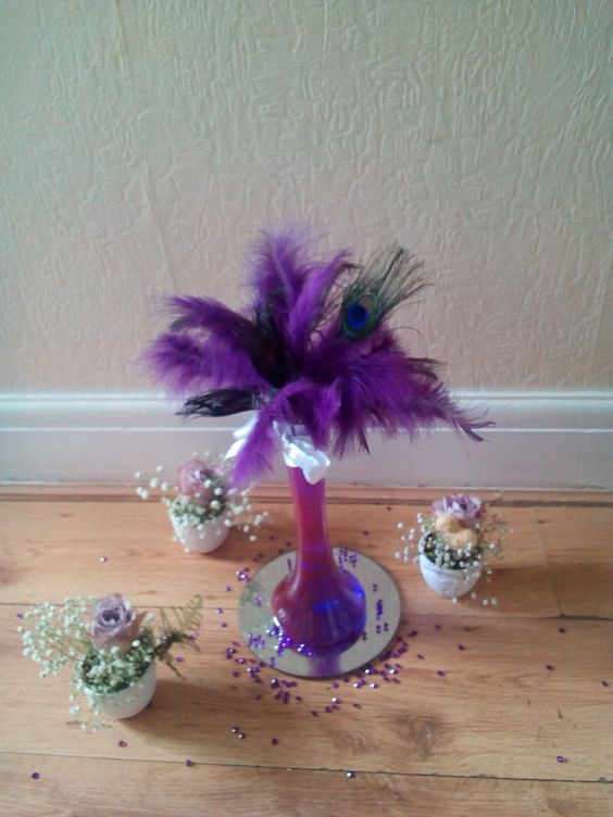 Feathers in Vases